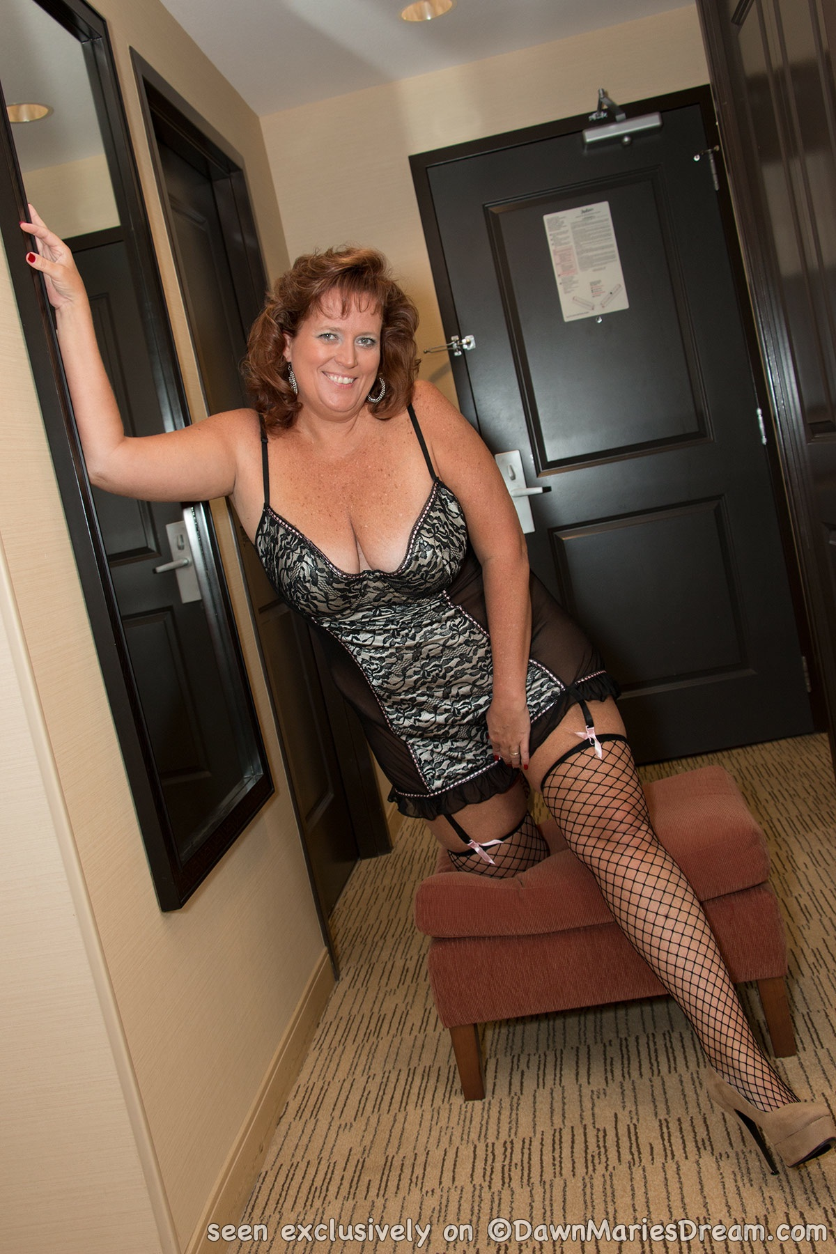 Dawn marie pantyhose are