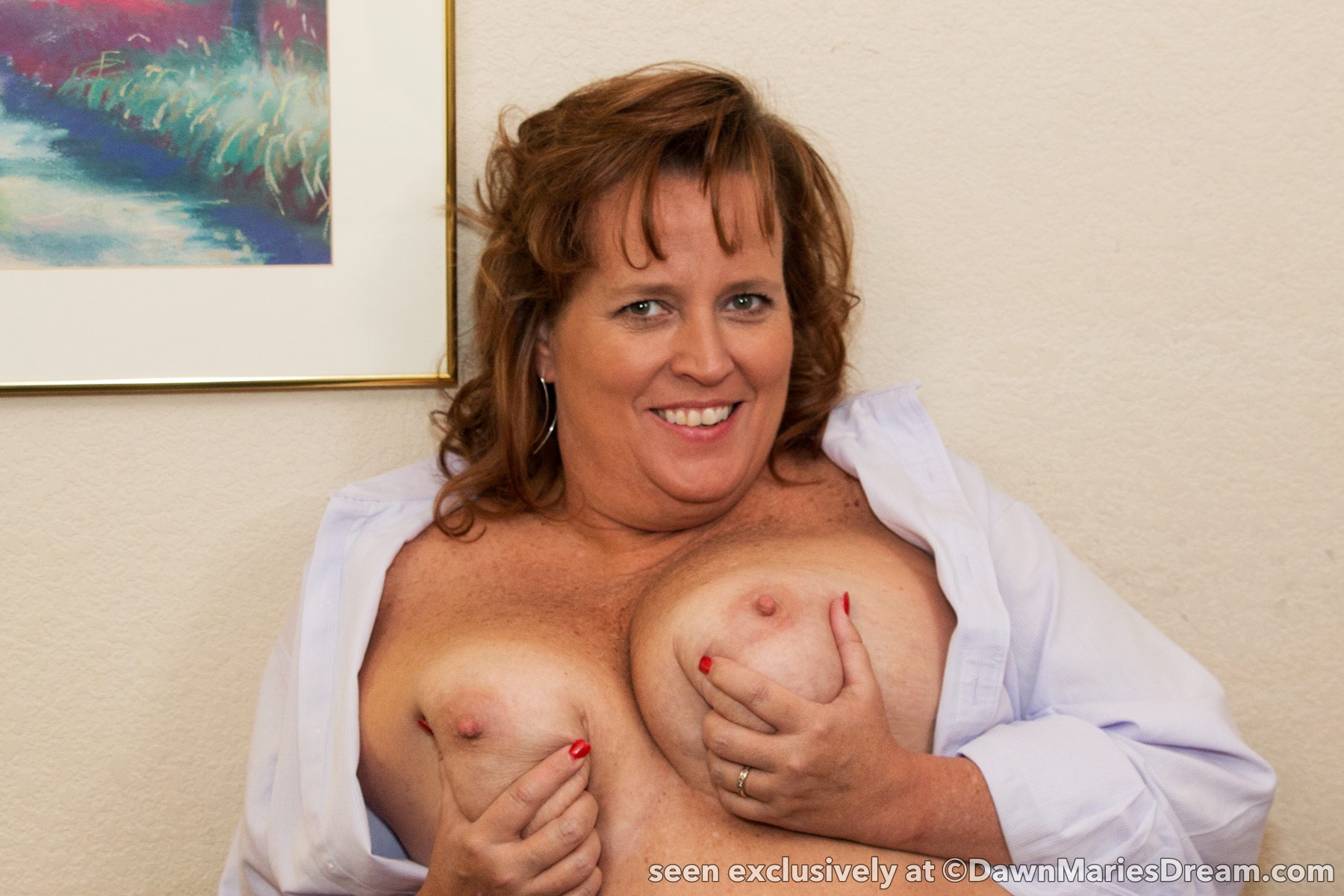 Dawn Marie Naked Real Amateur Redhead Housewife And Milf Next Door In Homemade Porn