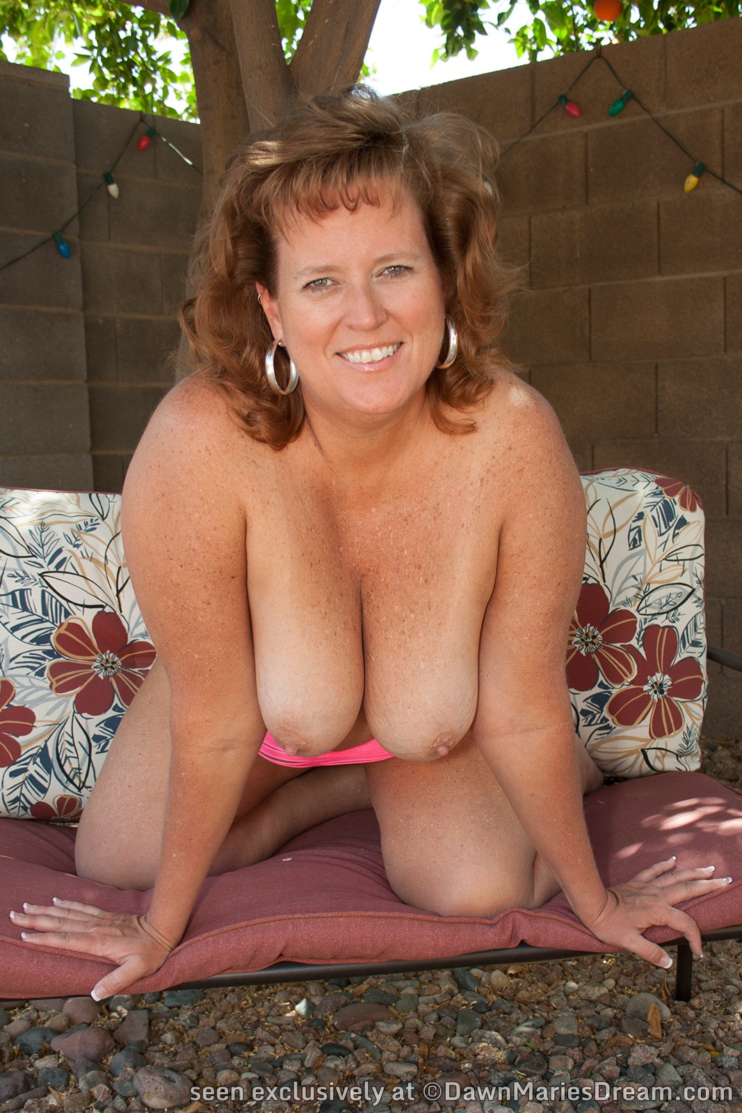 There's wrestler dawn marie nude words... super