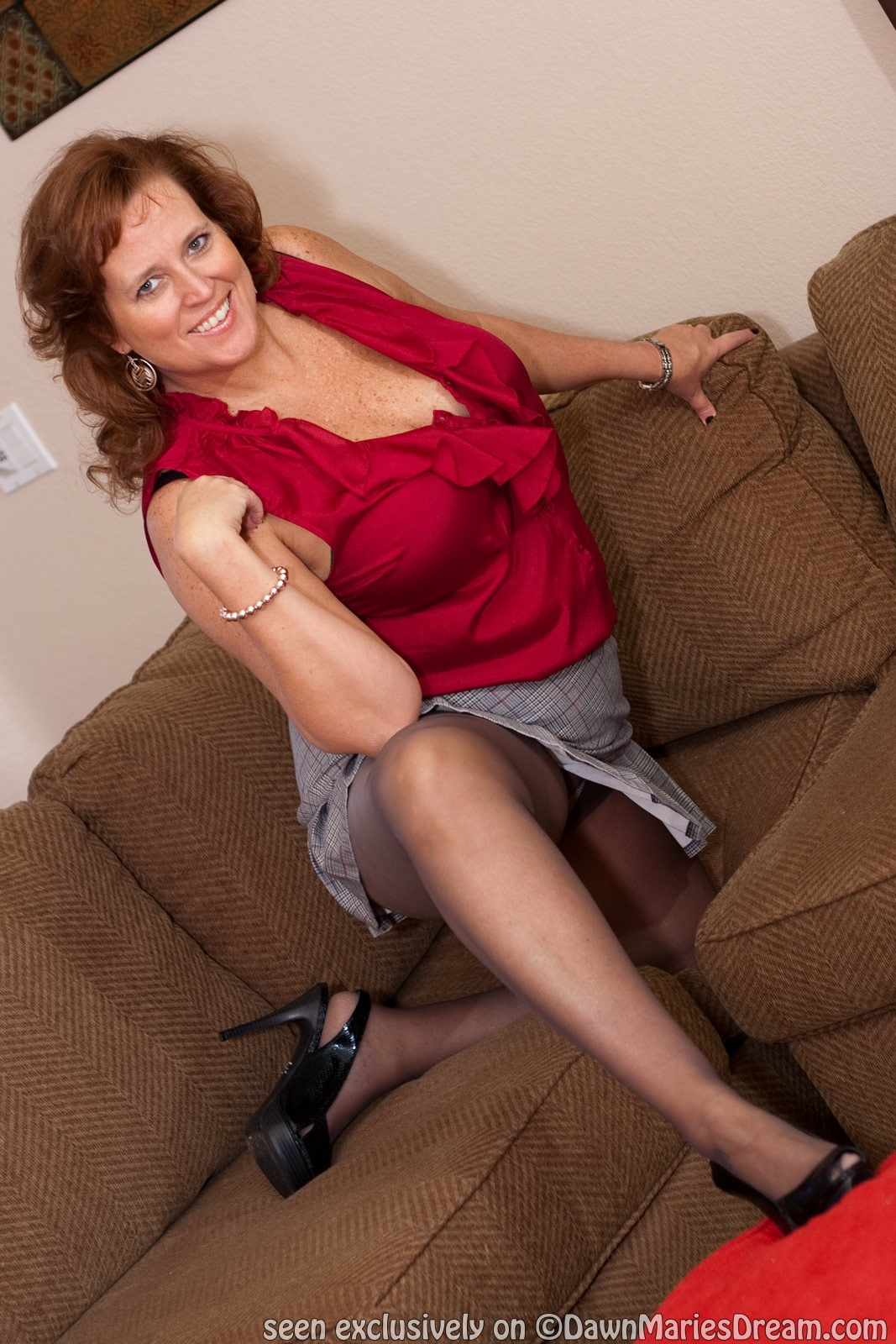 All dawn marie pantyhose unexpectedness!